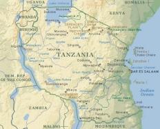 la-tanzanie-carte