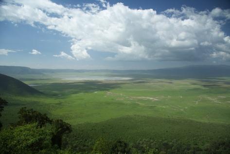 ngorongoro-aerial-view
